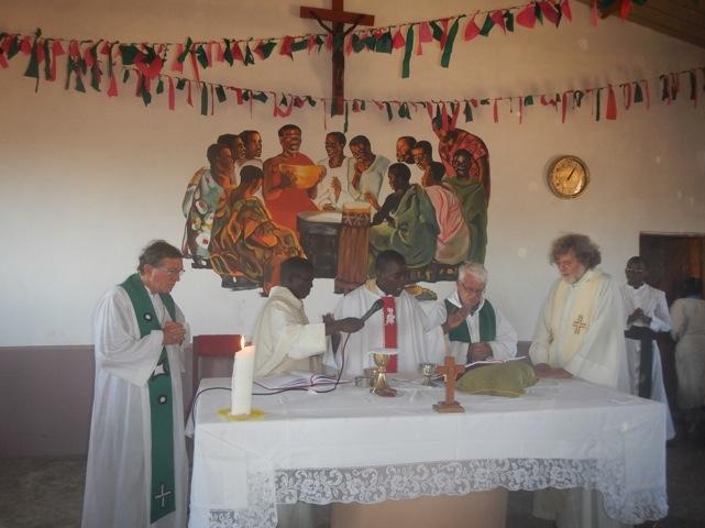 Poi la celebrazione eucaristica