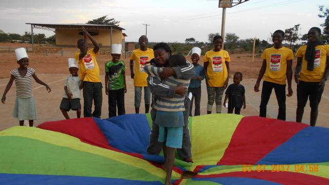 la gioia dei ragazzi del MALAWI